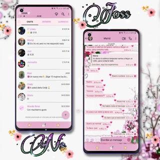 Flores Theme For YOWhatsApp & Fouad WhatsApp By Joss