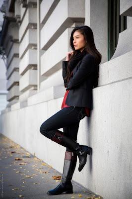 botas negras para trabajo