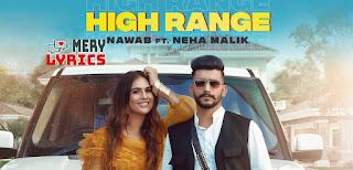 High Range Lyrics By Nawab