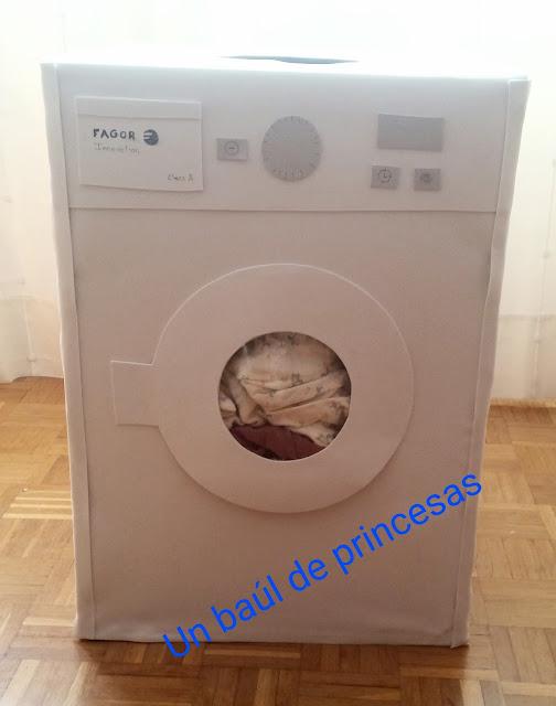 Disfraz lavadora