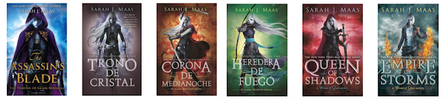 Trono de cristal / Throne of glass, Sarah J. Maas