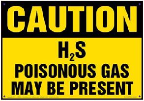 Berhati -hatilah terhadap gas H2s Hydrogen sulpida