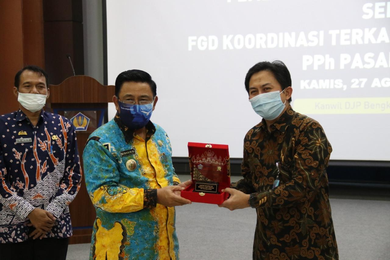 Pemprov Lampung Hibahkan Tanah Seluas 3.000 M² Kepada Kantor Pelayanan Pajak (KPP) Pratama Natar