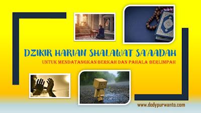 Dzikir Shalawat Sa'aadah