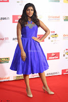 Eesha in Cute Blue Sleevelss Short Frock at Mirchi Music Awards South 2017 ~  Exclusive Celebrities Galleries 047.JPG