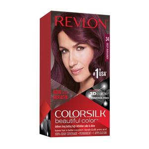 Thuốc nhuộm tóc Revlon 3D Color 34 Deep Burgundy Hàng Chính Hãng Mỹ