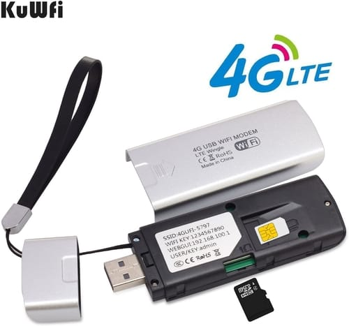 Review KuWFi KF-U907 Pocket 4G LTE USB Modem Router