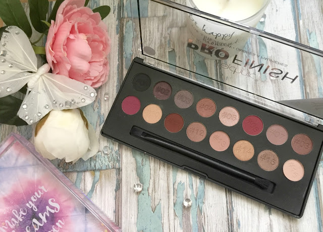 technics pro finish raspberry edition eyeshadow palette review