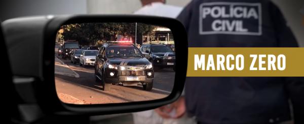 A PCDF deflagra Operação Marco Zero  para desarticular uma organização criminosa sediada no Recanto das Emas/DF! Confira