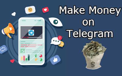 Earn Money on Telegram