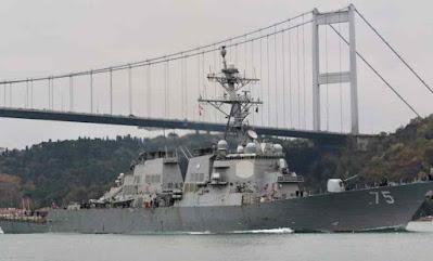 US warships set sail for Black Sea