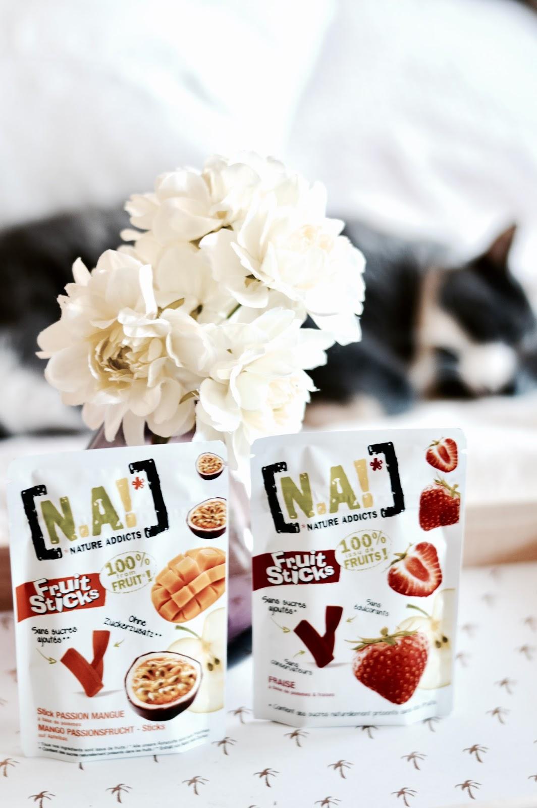 N.A! Nature Addict ! dégustation et avis des produits