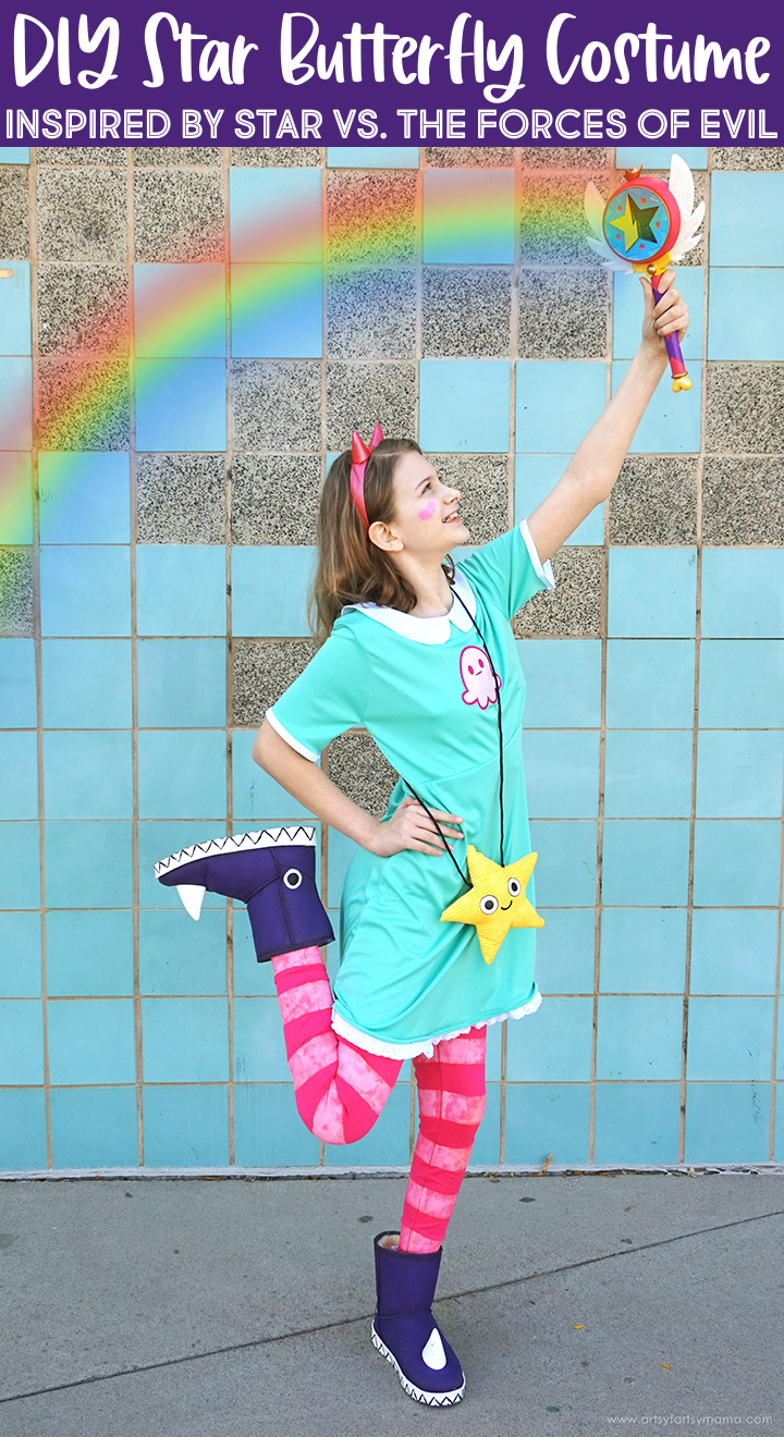 DIY Star Butterfly Costume