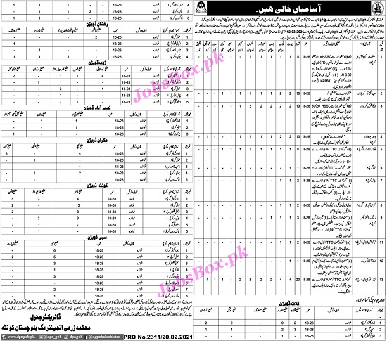 agricultural-engineering-department-balochistan-jobs-2021-application-form