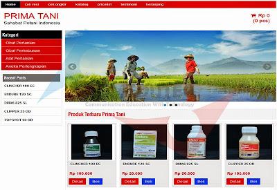 Jasa Pembuatan Website Toko Pertanian