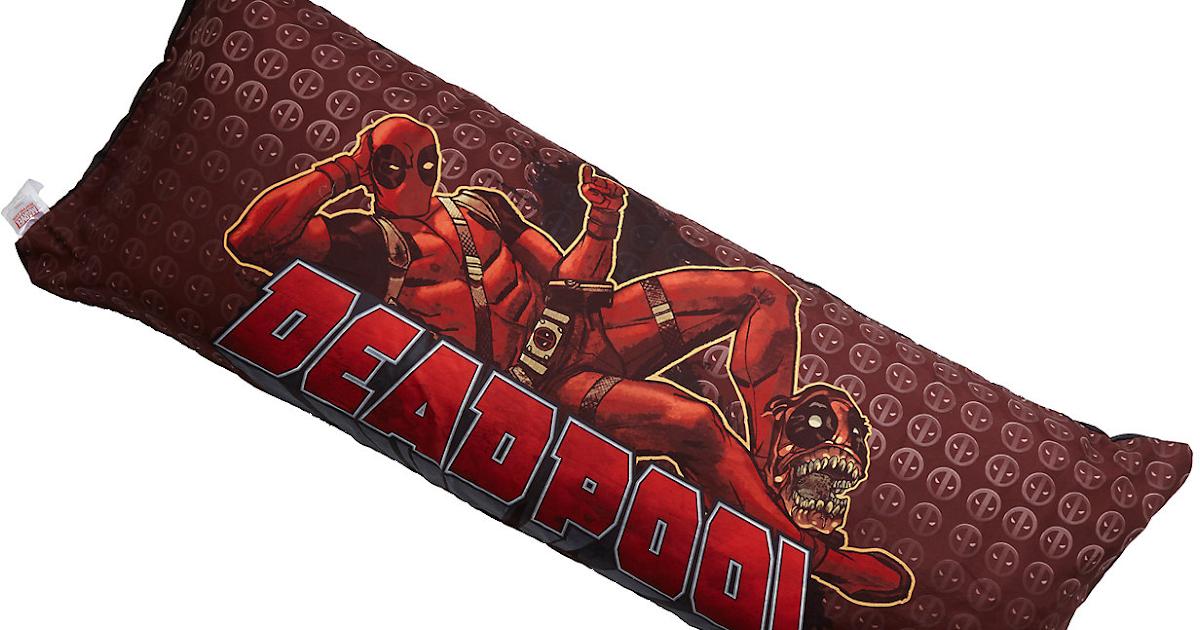 Deadpool Body Pillow Cover Deadpool Bugle