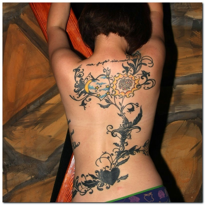 Tattoo Ideas For Women: Tattoo In Gallery: Rose Vine Tattoos Designs
