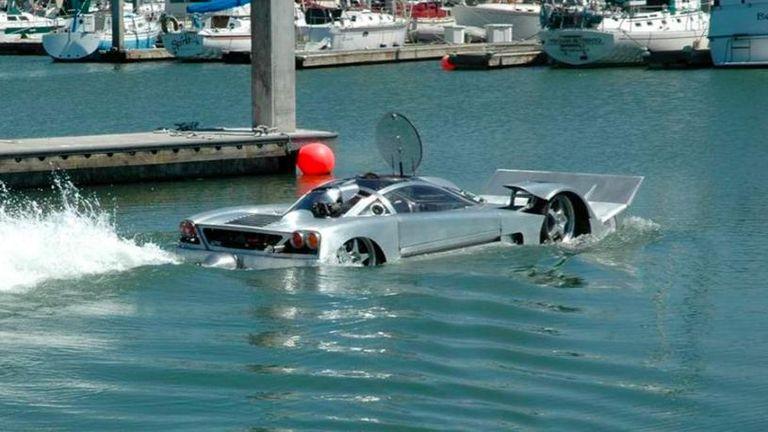 طراز Project Sea Lion البرمائي سرعة قصوى تصل لـ 60 ميلا في الساعة