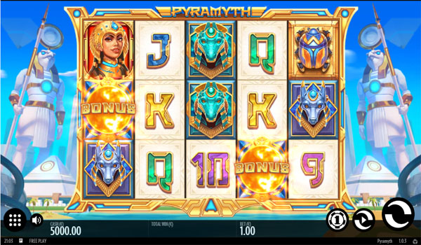 Main Gratis Slot Indonesia - Pyramyth (Thunderkick)