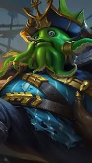 Bane Deep Sea Monster Heroes Fighter of Skins V4