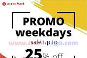 Katalog Promo Lottemart Weekday Awal Pekan 19 - 30 April 2019