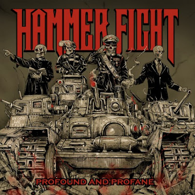 Hammer Fight - Profound And Profane - cover album - 2016