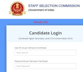 SSC CHSL Offical Answer Key 2019