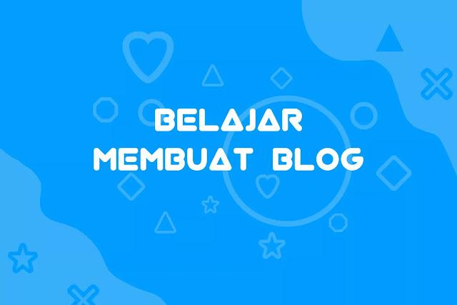 membuat blog, banner