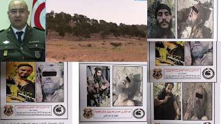 هويّة الإرهابيين الخمسة الذين تم القضاء عليهم بجبل الشعانبي ( صور للعناصر الارهابية)