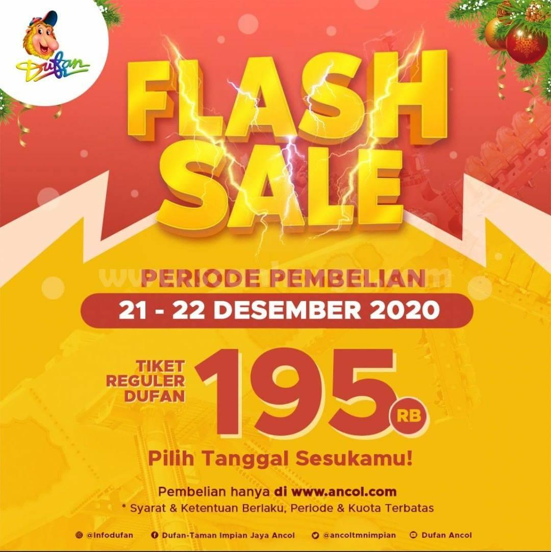 DUFAN FLASH SALE! Harga Spesial Tiket Regular hanya Rp 195.000