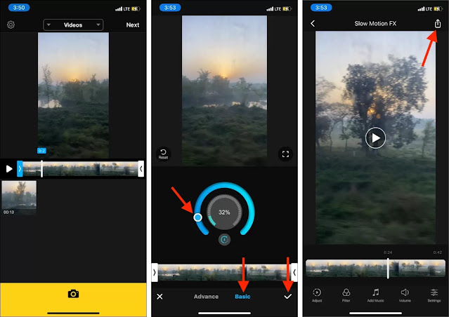 Cara Membuat Video Slow Motion Snapchat Dari Iphone