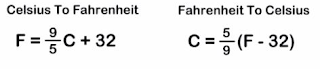 Converter Fahrenheit para Celsius em Perl