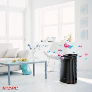 air purifier, mosquito catcher, Sharp