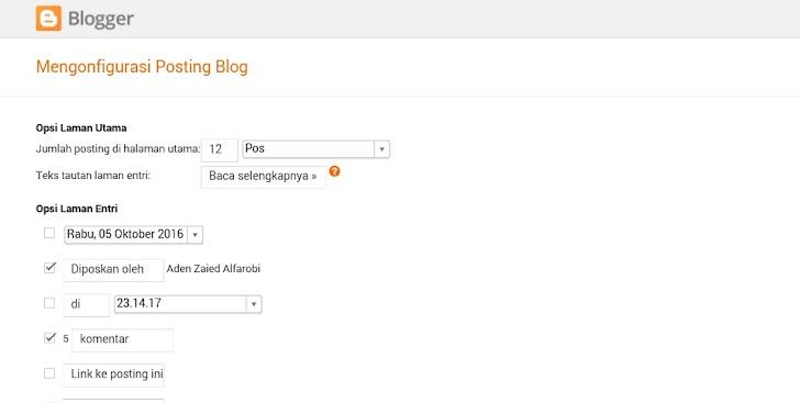 3 Cara menghilangkan tanggal postingan blog