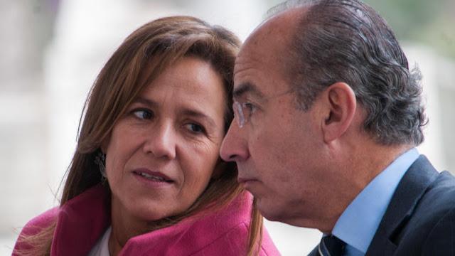 """""""La gente nos extraña, como a los Obama en EU"""", dice Margarita Zavala"""