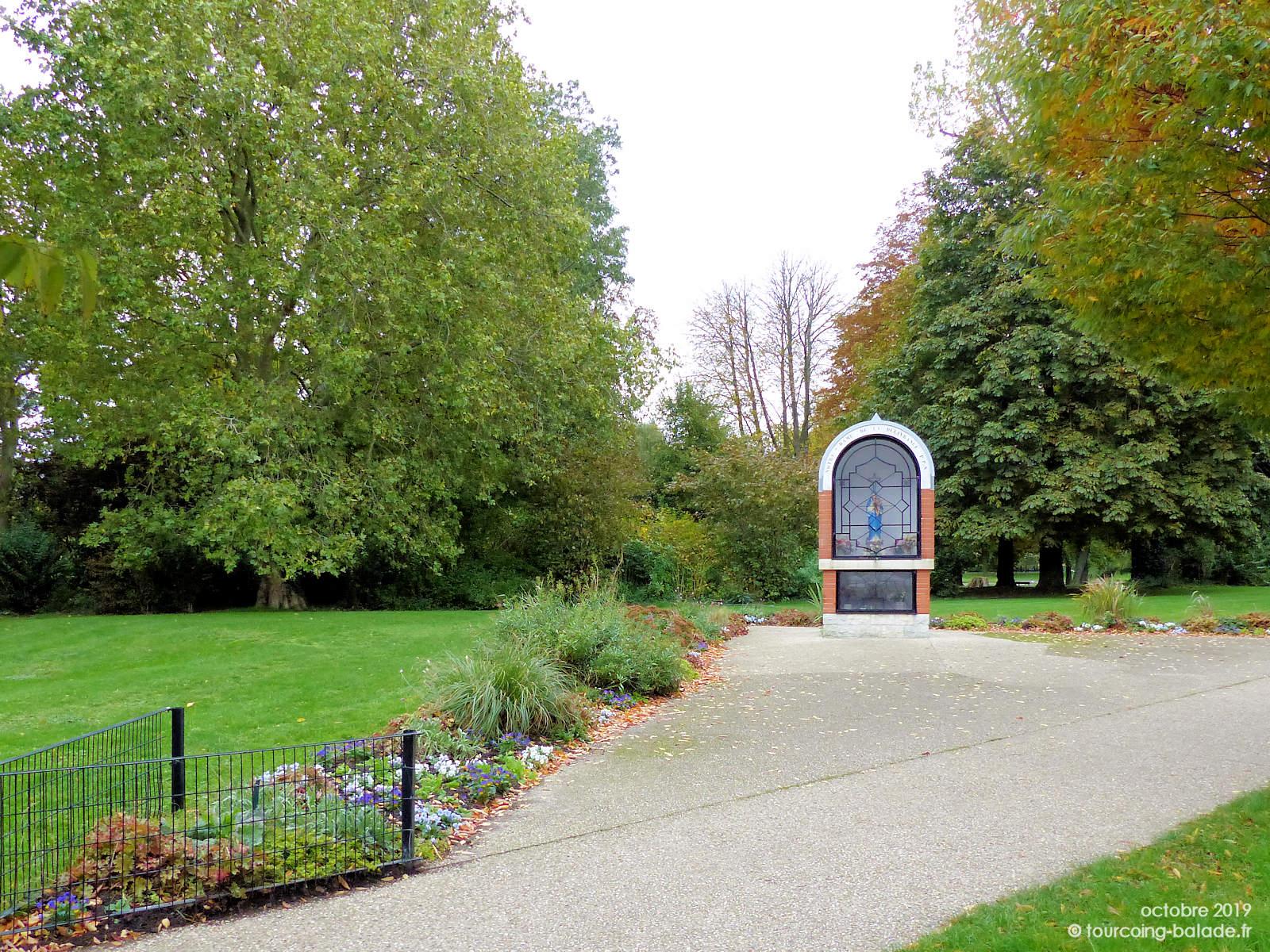 Oratoire Notre Dame Délivrance, Parc Clemenceau, Tourcoing