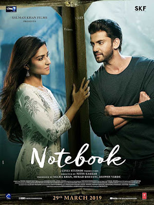 Poster Notebook 2019 Hindi HD 720p