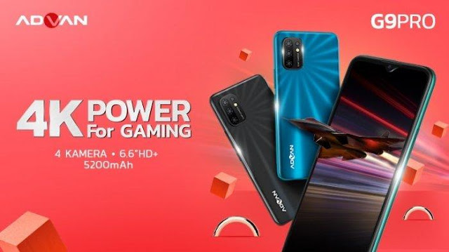 Hape Gaming Murah Meriah 1 Jutaan, Inilah Dia Advan G9 Pro