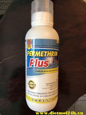 Thuốc diệt muỗi Permethrin Plus