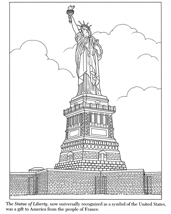 new york city coloring pages - photo#19
