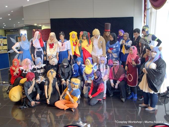 KaryaOne - Hijab cosplay Sailormoon