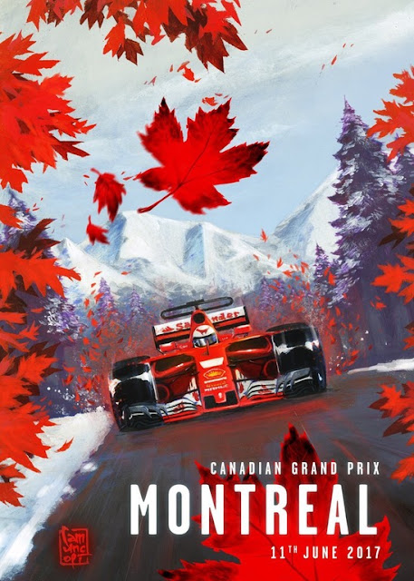 Formula 1 One Race Car Wallpaper Bright Tamerlane S Thoughts Ferrari F1 Montreal Poster