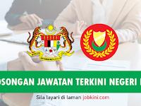 Permohonan Jawatan Terbuka di Negeri Kedah