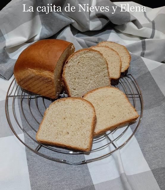 Pan de molde de leche con tang zhong