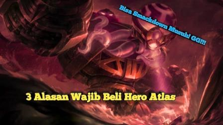Alasan wajib beli hero atlas