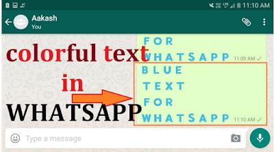 Cara membuat tulisan berwarna di Whatsapp dengan mudah