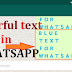 Mau menarik? Begini Cara membuat tulisan berwarna di Whatsapp dengan mudah