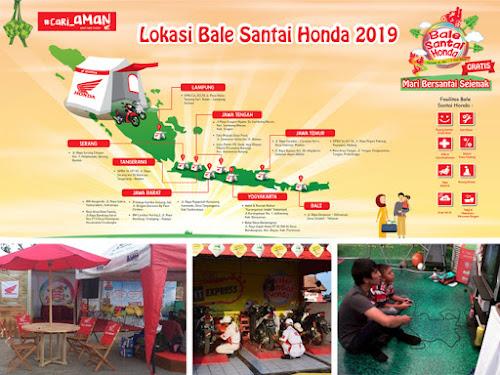 Lokasi Bale Santai Honda Mudik 2019