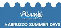 Logo #AbruzzoSummer 2019: vinci gratis 60 cappellini, 60 T-Shirt e 1 vacanza in Abruzzo