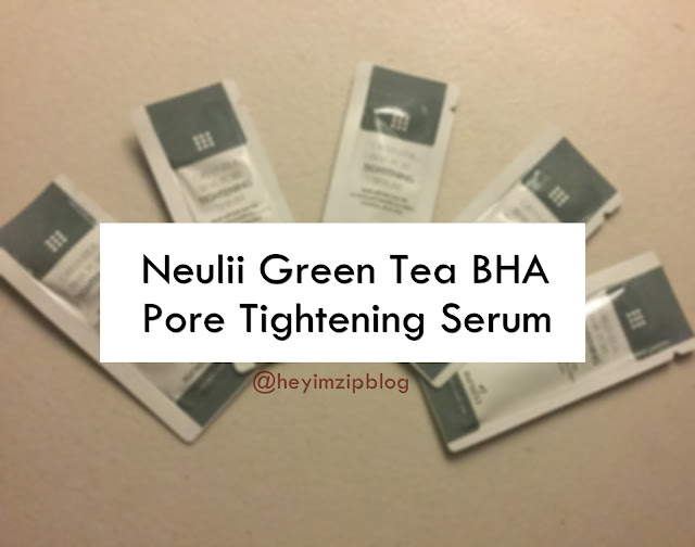 Neulii Greentea BHA Pore Tightening Serum Review